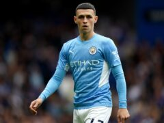 Phil Foden is expecting a tight title race this season (Adam Davy/PA)