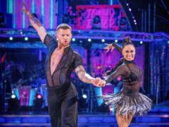 Adam Peaty is paired with Katya Jones in this year's Strictly series (Guy Levy/PA)