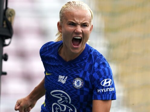 Pernille Harder scored another vital goal for Chelsea (Martin Rickett/PA)