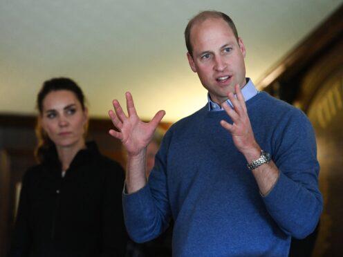 The Duke and Duchess of Cambridge (Tim Rooke/PA)
