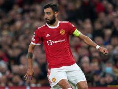 Bruno Fernandes has voiced his frustration at Manchester United's recent performances (Martin Rickett/PA)