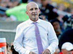 Former North Carolina Courage head coach Paul Riley denies the allegations against him (Karl B DeBlaker/AP).