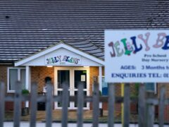 Jelly Beans Day Nursery in Ashford, Kent, which has been closed after a child died following a medical emergency (Gareth Fuller/PA)