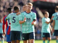 Harvey Barnes believes there is more to come from Leicester (John Walton/PA)