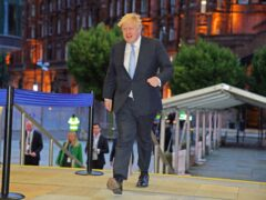Prime Minister Boris Johnson has defended the BBC (Peter Byrne/PA)