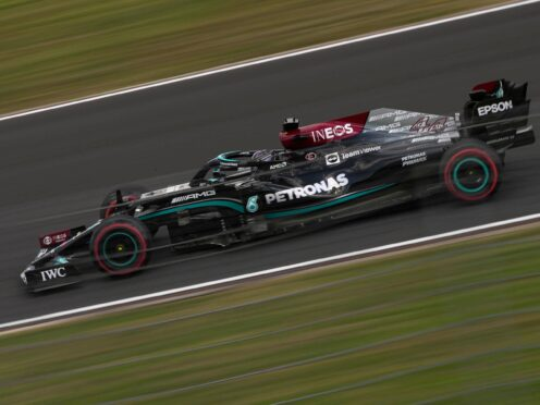 Lewis Hamilton finished fastest in first practice (Francisco Seco/AP)