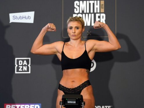 Shannon Courtenay, pictured, has failed to make weight for her fight against Jamie Mitchell and is likely to lose her WBA title (Mike Egerton/PA)