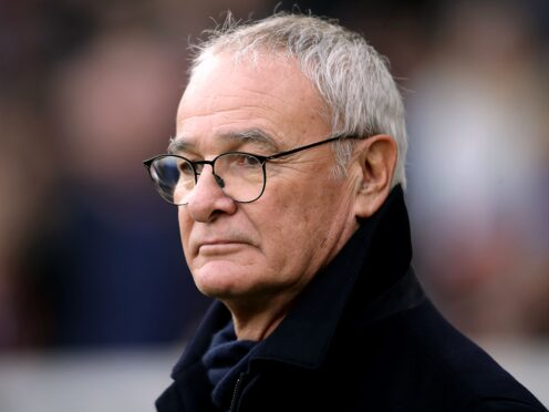Claudio Ranieri's first game in charge of Watford is against Liverpool on Saturday ((John Walton/PA)