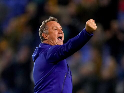 Micky Mellon was delighted with Tranmere's win on Friday (Martin Rickett/PA)