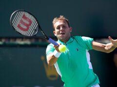Dan Evans claimed a fine win over Kei Nishikori (Mark J Terrill/AP)