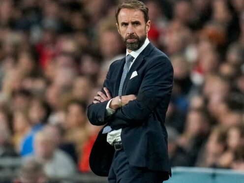Gareth Southgate was disappointed with England's performance against Hungary (Kirsty Wigglesworth/AP)