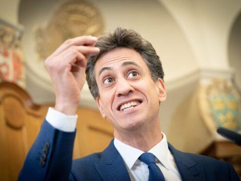 Shadow business secretary Ed Miliband (Stefan Rousseau/PA)