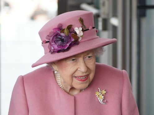 The Queen at the opening of the parliament's sixth session (Jacob King/PA)
