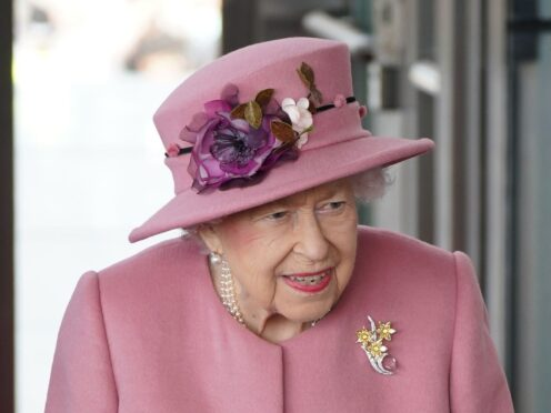 The Queen seemingly revealed her frustration during a ceremony at the Welsh Senedd (Jacob King/PA)