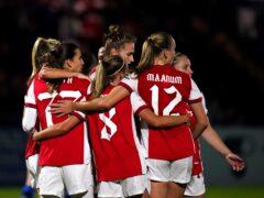 Arsenal put four past Hoffenheim (John Walton/PA)