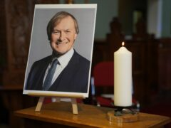 Prayers are being offered at a service of remembrance for the MP Sir David Amess (Kirsty O'Connor/PA)