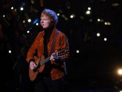 Ed Sheeran (Yui Mok/PA)