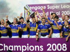 Leeds stunned St Helens in the 2008 Super League Grand Final (John Giles/PA)