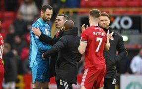 Aberdeen boss Stephen Glass hails Joe Lewis following his return in Hibs win