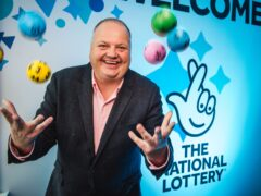 Andy Carter is a senior winners' adviser at The National Lottery (Camelot, The National Lottery/PA)