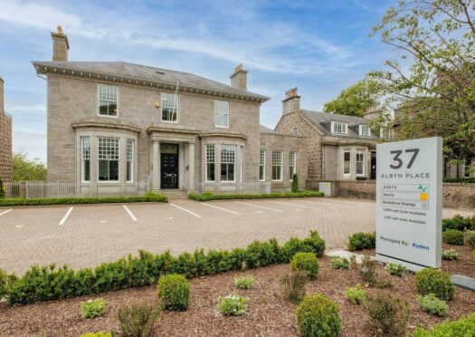 Refurbished office building in Aberdeen's West End up for sale at £3.9m