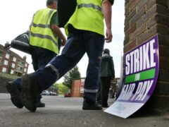 Council workers in 17 local authority areas are to take strike action as part of a pay dispute (Gareth Fuller/PA)