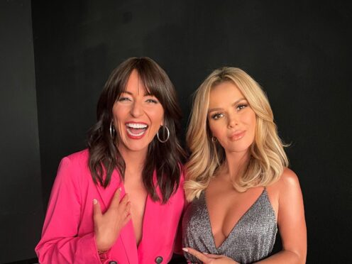 N Brown has hailed momentum as it continues its turnaround plan. It has been boosted by a marketing push involving Davina McCall and Amanda Holden (N Brown/PA)