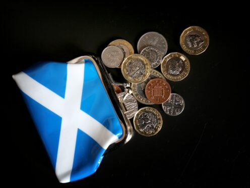Almost 430,000 Scots have been unable to pay their council tax in the last year after running out of money, Citizens Advices Scotland said. (Jane Barlow/PA)