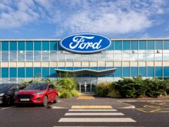 Ford's factory at Halewood (PA)