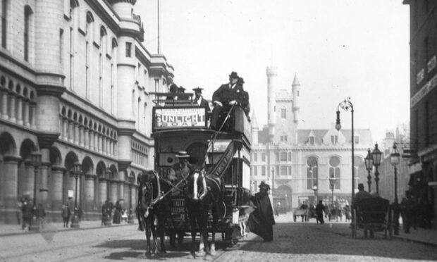 How the topic of trams has been dividing opinion in Aberdeen for 147 years
