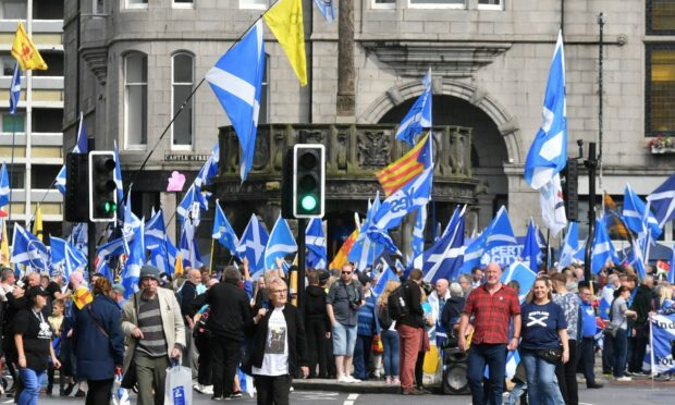 Independence march court case adjourned following funding difficulties