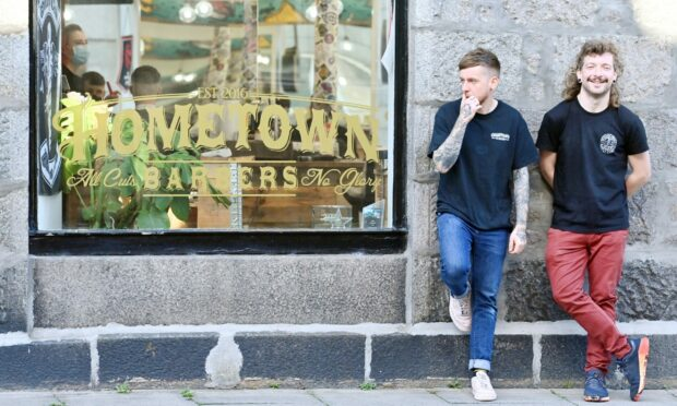 Aberdeen barbering duo are a cut above the rest