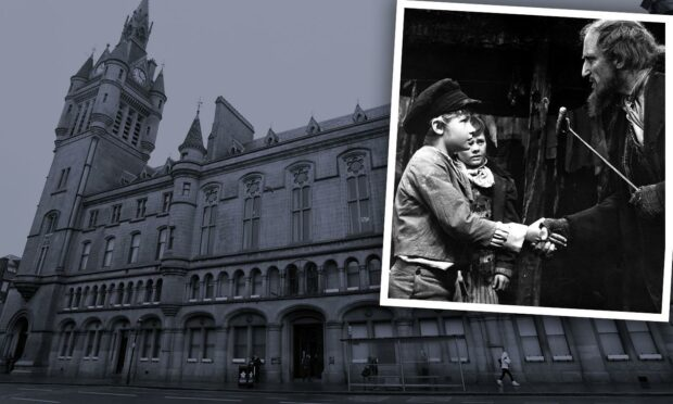 Consider yourself jailed: Aberdeen's own Oliver Twist locked up after break-ins