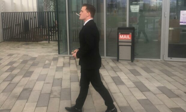 Fine for soldier who locked ex in room and brandished scissors