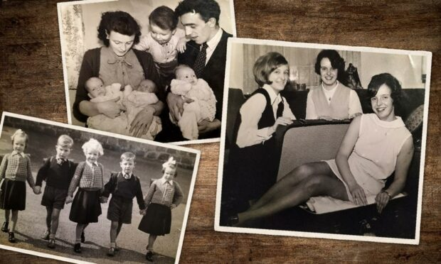 The Dalgarno sisters: Aberdeen's first triplets celebrate their 70th birthday