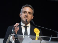 Scottish Liberal Democrat leader Alex Cole-Hamilton challenged the First Minister to rip up her government's agreement with Heathrow Airport before the Cop26 climate change summit (Lesley Martin/PA)
