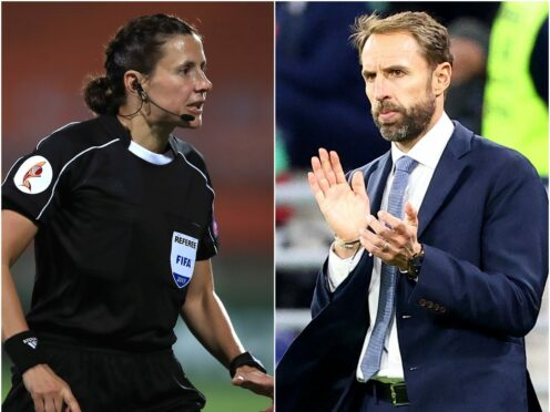 Kateryna Monzul will referee England's World Cup qualifier against Andorra as Gareth Southgate's side look to move a step closer to Qatar 2022 (Mike Egerton/Attila Trenka/PA)