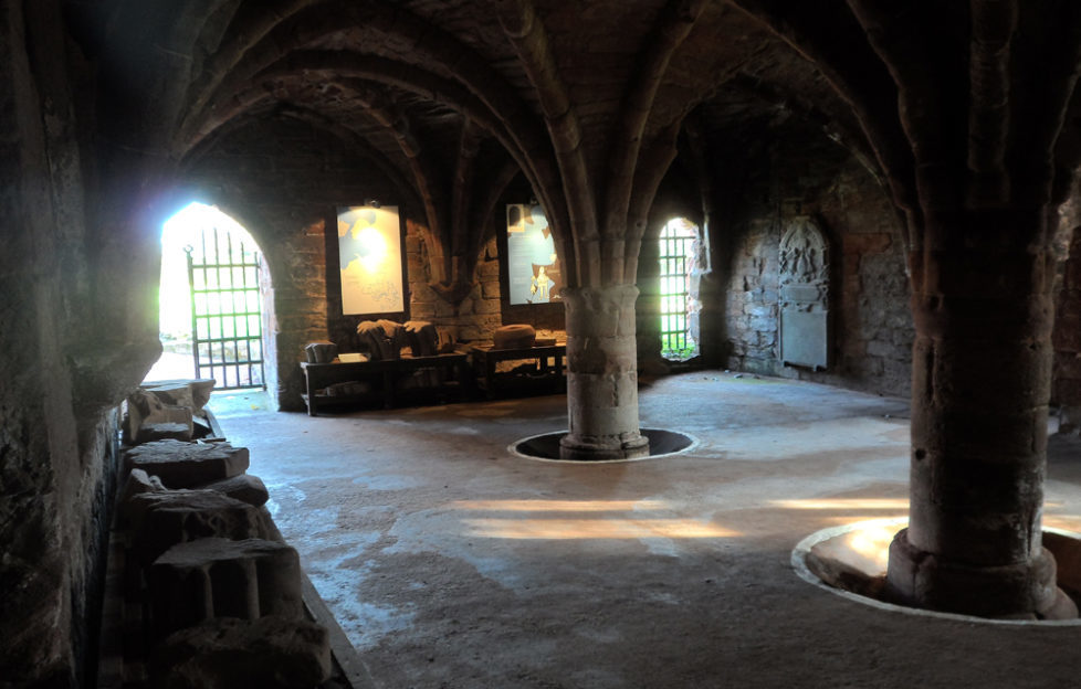Arbroath Abbey Vaulted Chamber