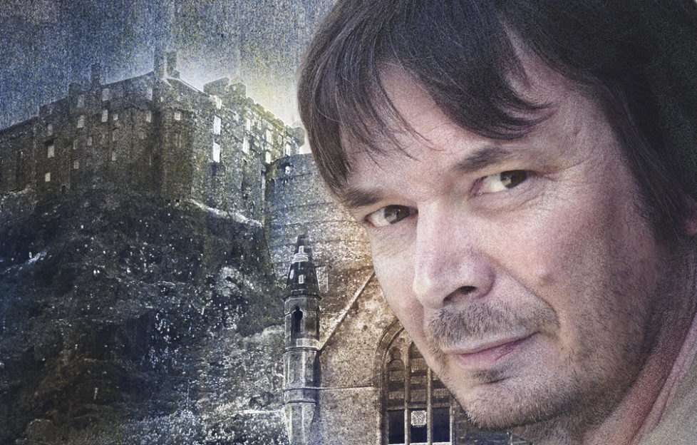 Ian Rankin - The Scots Magazine cover