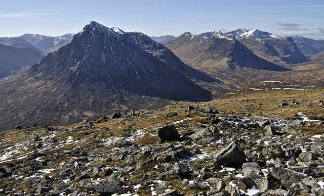 The two Etive Buachailles