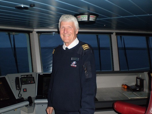 Dave Wheeler, Master of The Hjaltland