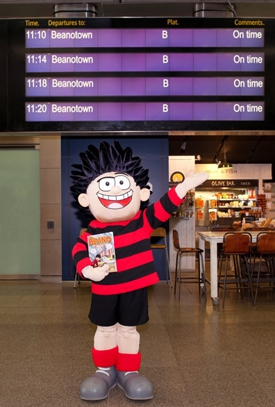 All trains to Beanotown!