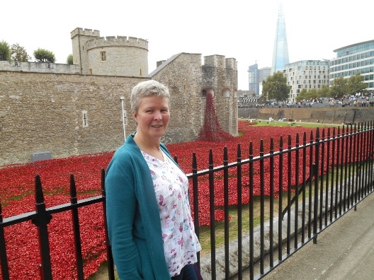 Judith at The Tower of London