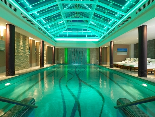 Kohler Water Spa's pool at the Old Course Hotel, St Andrews