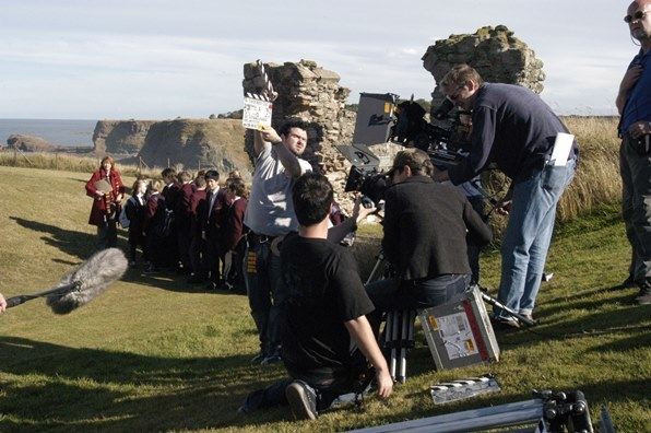 Filming in East Lothian