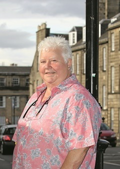 Val McDermid also celebrates 30 years since her first novel, Report for Murder, was published. Photo by Barrie Marshall