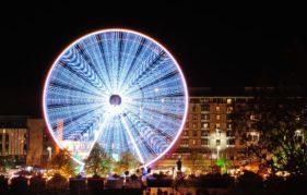 Edinburgh's Big Wheel. Photo by Robert Ramsay, copyright Underbelly