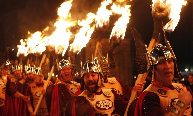 The Torchlight Procession. Photo by Lloyd Smith