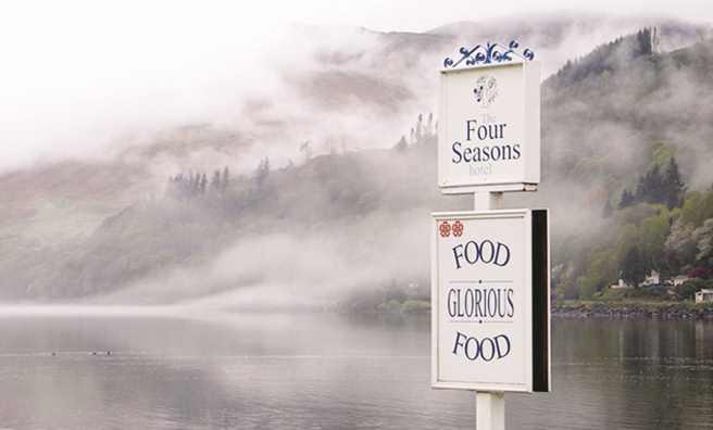 The Four Seasons - gourmet dining this week