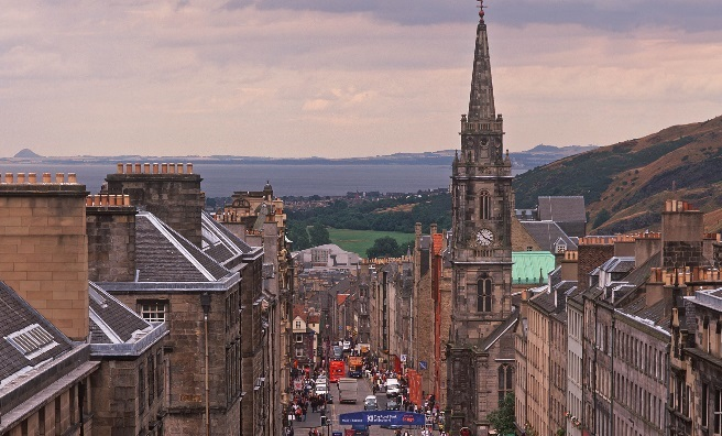 A walking tour of the Royal Mile is one of the events taking place during Previously...Scotland's History Festival. Photo courtesy of Visit Scotland / Scottish Viewpoint